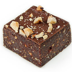 Vegan hazelnut brownie thumbnail