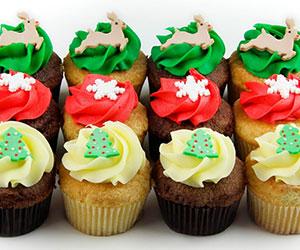Christmas cupcakes thumbnail