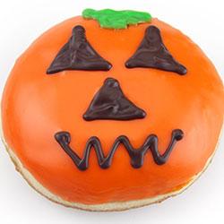 Halloween Jack O' Lantern Jam filled Donut - 130g thumbnail