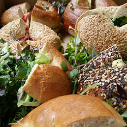 Assorted bagels thumbnail