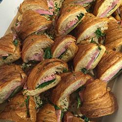 Savoury filled croissants thumbnail