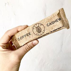 Coffee cashew naked paleo bar - 65g thumbnail