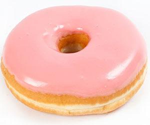 Pink Ribbon doughnut - large thumbnail