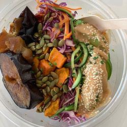 Vegan health salad bowl thumbnail