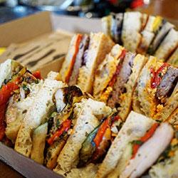 Gourmet Balkan sandwiches thumbnail
