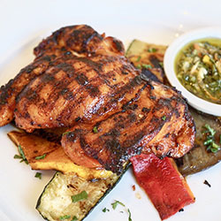 Charcoal grilled chicken meal thumbnail