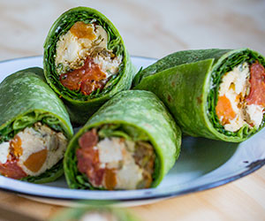 Gluten Free breakfast wrap thumbnail