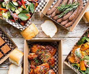 BBQ buffet lunch thumbnail