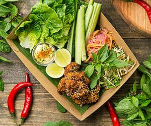 Szechuan chicken crisp share platter thumbnail