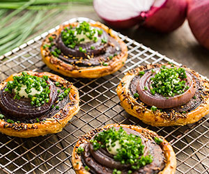 Chilterns tart with roast truffle portobello mushroom thumbnail