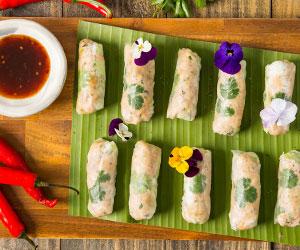 Vietnamese crystal rolls - small thumbnail
