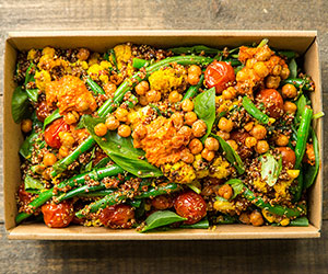 Quinoa and romesco salad thumbnail