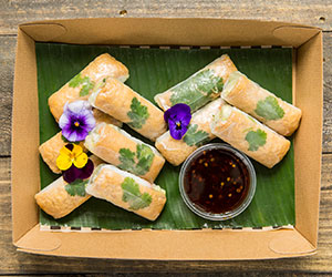 Vietnamese crystal rolls - large thumbnail