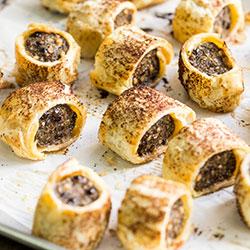 House gourmet sausage rolls - mini thumbnail