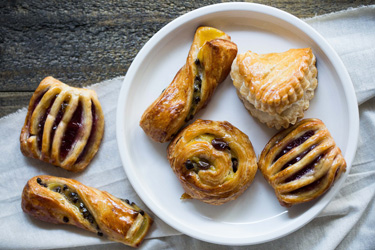 Assorted Danish pastry - mini thumbnail