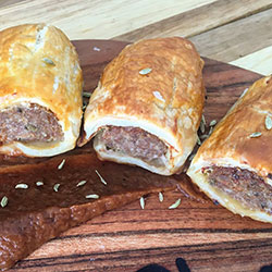 House made sausage rolls - mini thumbnail