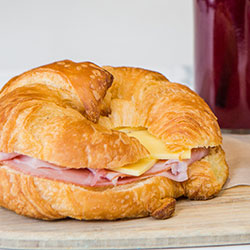 Breakfast croissants thumbnail