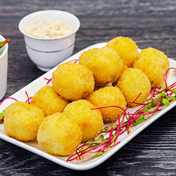 Four cheese arancini thumbnail