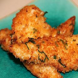 Parmesan crumbed chicken bites thumbnail