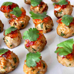 Thai chicken balls thumbnail