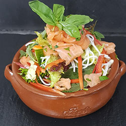 Salmon and glass noodle salad thumbnail