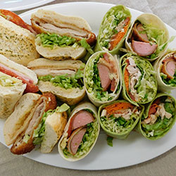 Mixed rolls and wraps platter thumbnail