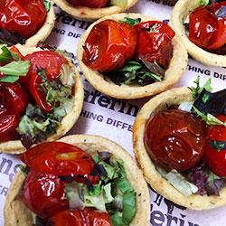 Tomato and feta tartlets thumbnail