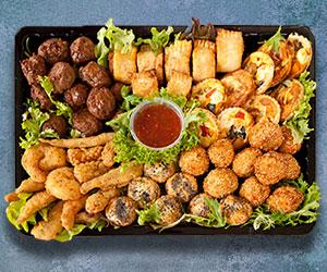 Hot Finger food platter thumbnail