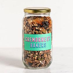 Maple almond chia granola thumbnail