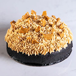 Chocolate peanut butter toffee bourbon cake thumbnail