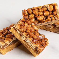 Roasted peanut and miso slice thumbnail