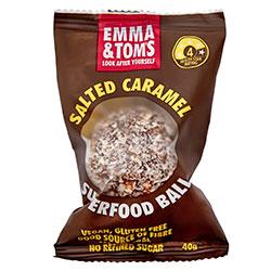 Salted caramel protein ball thumbnail