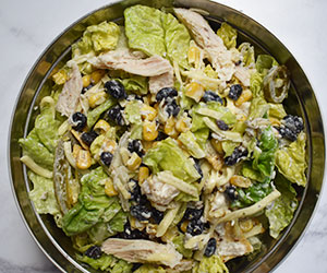 Chicken chipotle salad thumbnail
