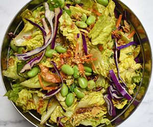 Vegan slaw salad thumbnail