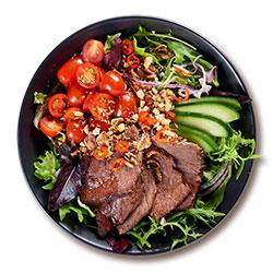Thai wagyu beef salad bowl thumbnail
