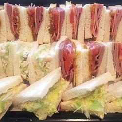 Classic triangle sandwich platter thumbnail
