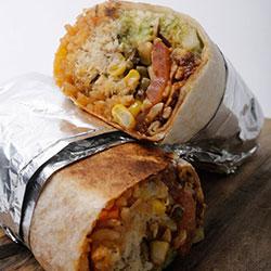 Vegetarian burrito thumbnail
