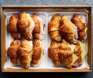 Ham and cheese croissant thumbnail