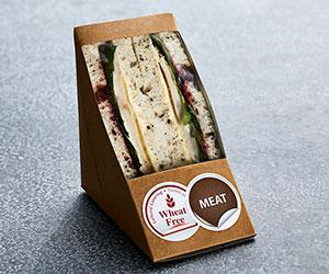 Wheat free individual sandwich thumbnail