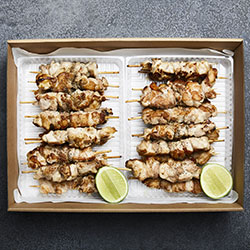 Jamaican jerk chicken skewers thumbnail