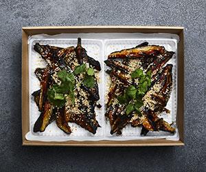 Japanese miso eggplant salad thumbnail