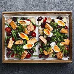 Salmon nicoise salad thumbnail