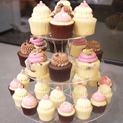 3 Tier Acrylic Cupcake Tower thumbnail
