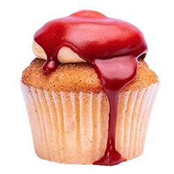 Jam donut cupcake thumbnail