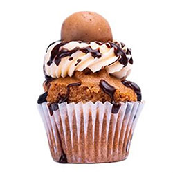 Cookie dough cupcake thumbnail