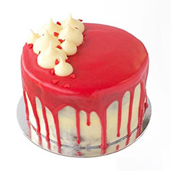 Red velvet cake - serves 12 to 15 thumbnail