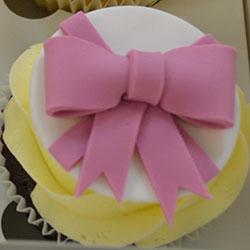 Pink ribbon cupcake thumbnail