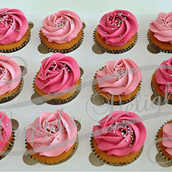 Pink cupcakes with sprinkles thumbnail