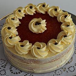 Royal sponge cake - 8 inch thumbnail