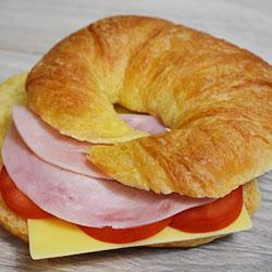 House baked croissant thumbnail
